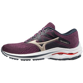 Mizuno Wave Inspire 17 Shoes Women, india ink/platinum gold/ignition red